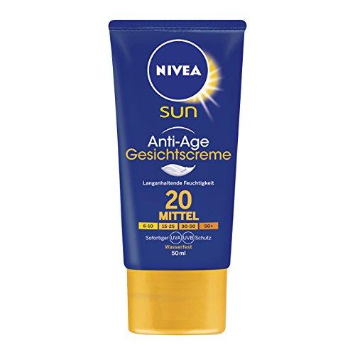2x Nivea Sun Anti-Age Creme LF20 (50 ml) + Nivea Badetuch + Nivea Sun Puppe für 10,30€ (Amazon)