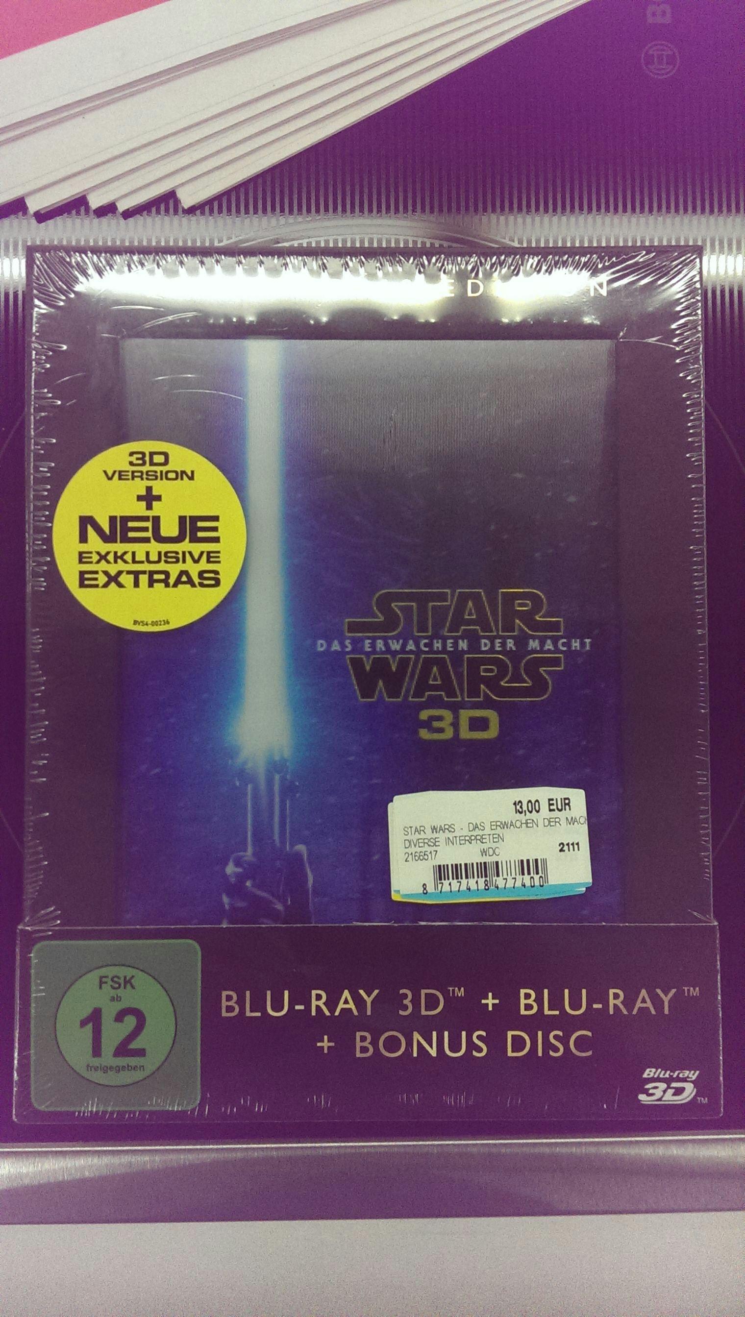 [Lokal - Media Markt Esslingen Neckarcenter] Star Wars - Das Erwachen der Macht 3D Special Edition