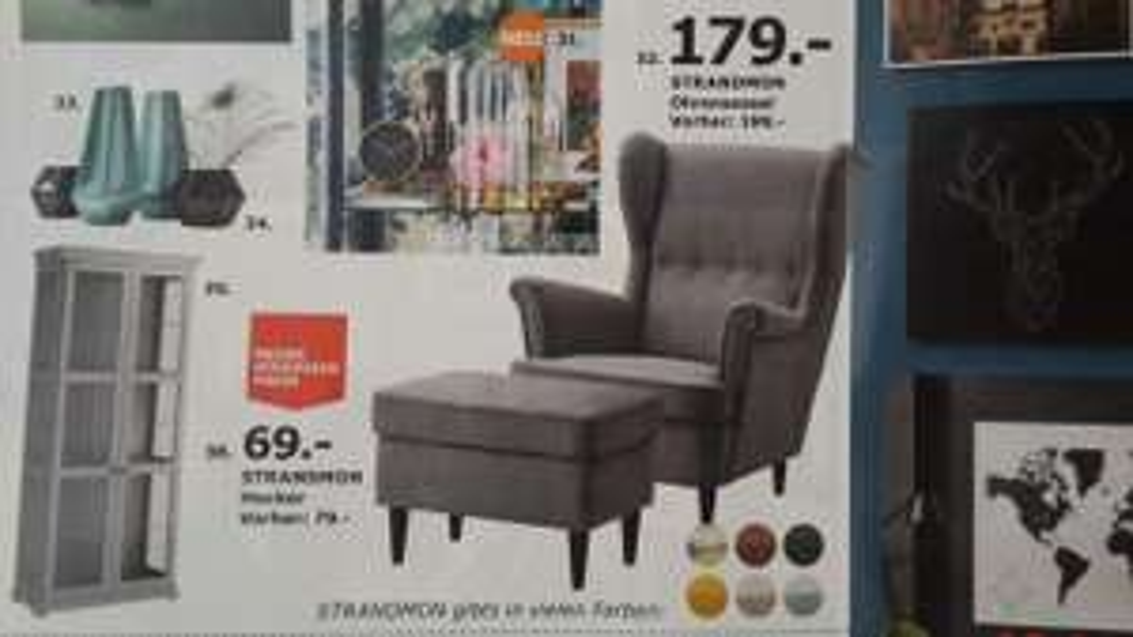 IKEA Strandmon Sessel ab sofort dauerhaft 179€