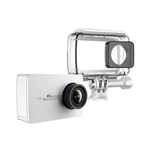 """Amazon - YI 4K Action Kamera Weiß mit Wasserfestem Gehäuse 4K/30fps 2.19""""LCD Touchscreen Elektronische Bildstablisierung EIS unterstützt für 184,99 Euro"""