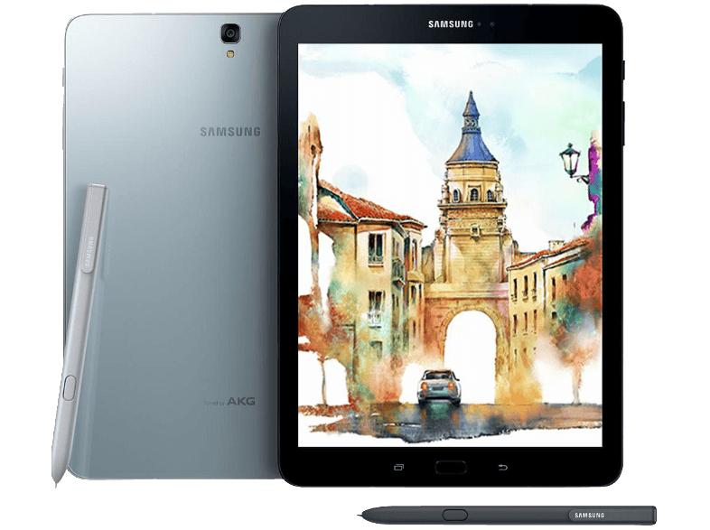 SAMSUNG Galaxy Tab S3 32 GB 9.68 Zoll Tablet Silber bei MediaMarkt