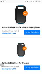 Sale beim Runtastic Shop Smartphone Case
