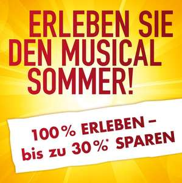 Musical Sommer - bis zu 30 % möglich auf diverse Top-Musicals, z.B. Tarzan Premium Kategorie für ~ 100€