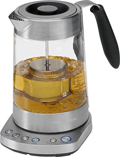 [Amazon] Profi Cook PC-WKS 1020 G Glas- Tee- Wasserkocher 2 in1