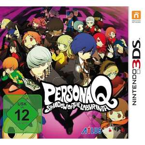 [Müller] Persona Q: Shadow of the Labyrinth (3DS) für 39,99€  PVG: 99€