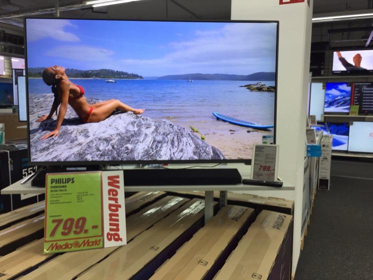 Lokal Frankfurt Philips 55pus7101 TV für 799€