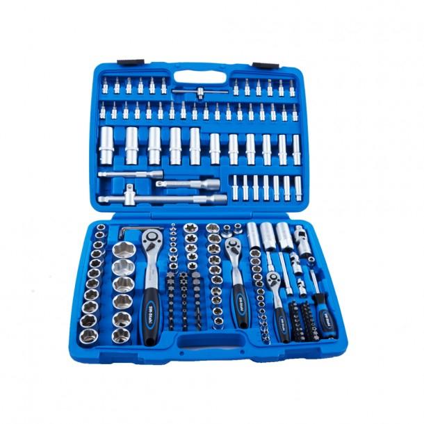 SW-Stahl Industrie Steckschlüsselsatz Werkzeugkoffer 171 Teile