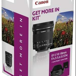 Canon EF-S 10-18mm f/4.5-5.6 IS STM Spezialkit mit EW73C