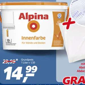Alpina Innenfarbe 14,99 [real]