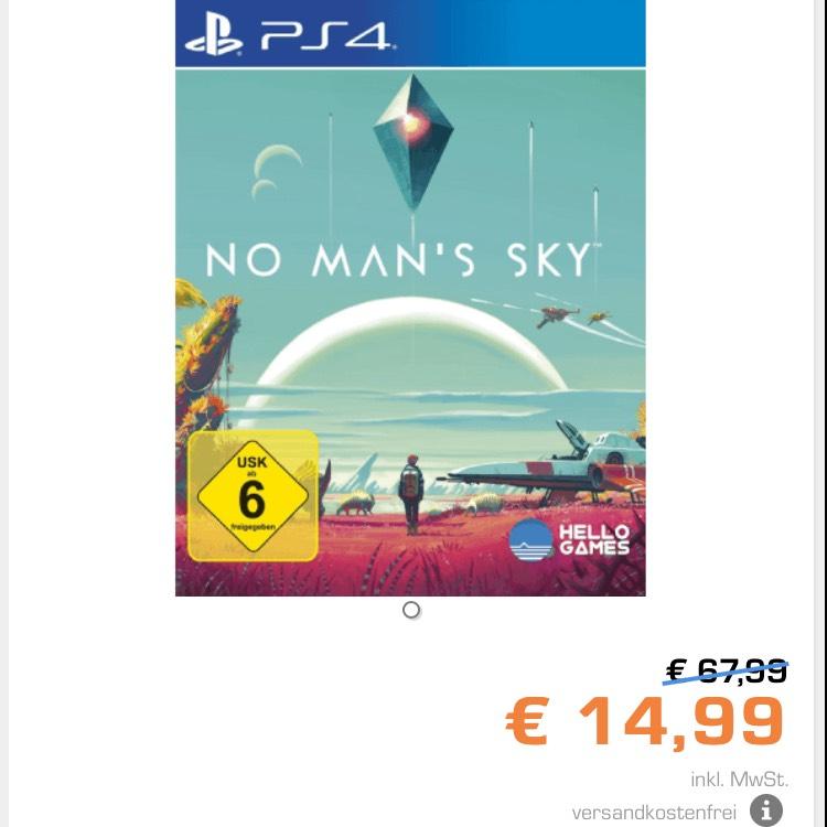 No man's sky bei Saturn für 14,99€