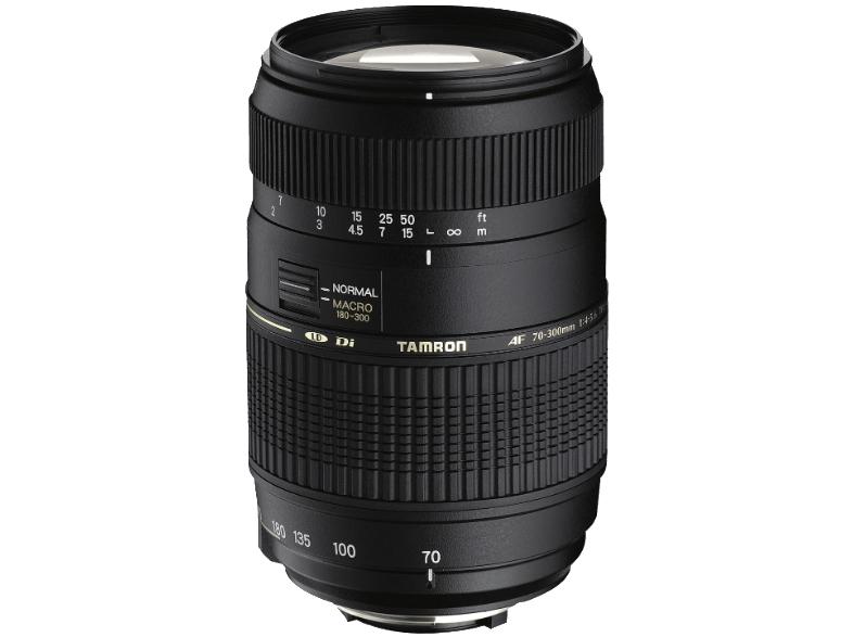 Media Markt VSK-frei: Tamron AF 70-300mm f:4-6,5 Telezoom Objektiv für Nikon für 83€