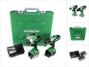Hitachi 18 V Kombibohrer + Schlagschrauber inkl. 2 x 1.5Ah Akkus - Versanddatum: 17.08.2017 (IBOOD)