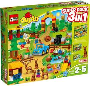 Lego Duplo (66538) Wildpark Super Pack 3-in-1 für 50€ [Real]