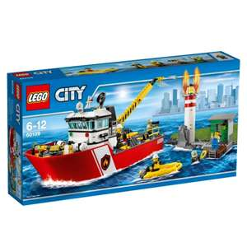 Lego 60109 City - Feuerwehrschiff für 39€ [Real]