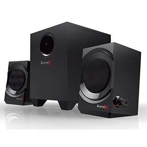 Creative Sound BlasterX Kratos S3 - Analoge 2.1 Gaming Speaker (Schwarz) mit Amazon Prime