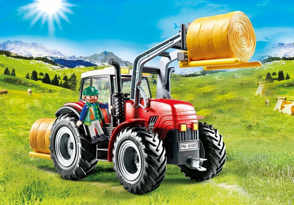 Playmobil Country - Riesentraktor mit Spezialwerkzeuge Für 12,95 inkl. Versand [Real]