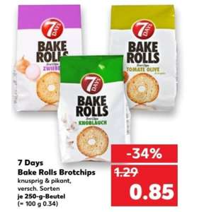 Kaufland 7days Bake Rolls