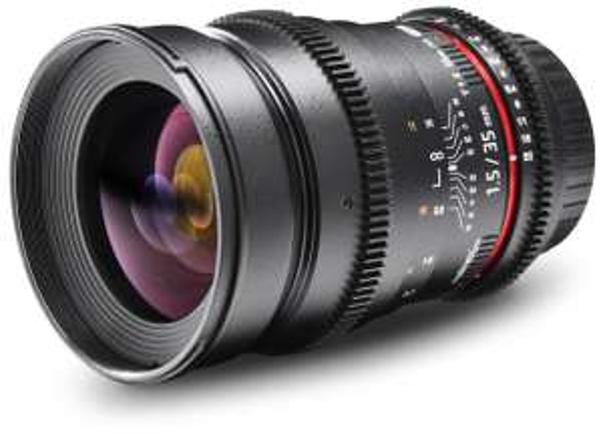 Walimex Pro 35mm 1.5 VDSLR für Sony E, für 390,15€ [Amazon]