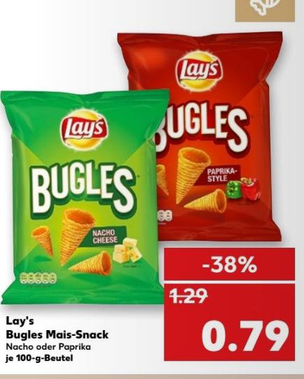 Kaufland Lay's Bugles 100g