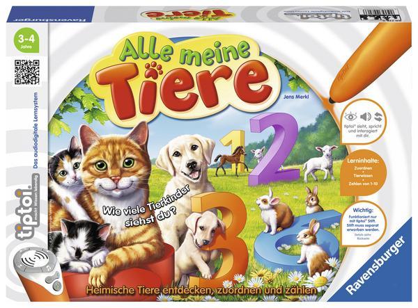 """[Thalia] Tiptoi """"Alle meine Tiere"""" per APP mit Buchtrick für 12,69 € (Inkl. Versand)"""