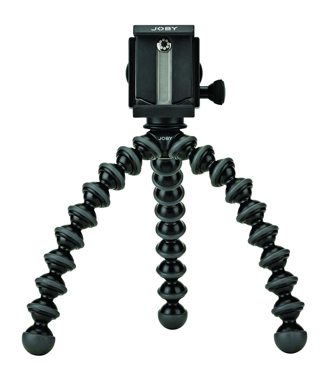 Joby GorillaPod pro Stativ mit GripTight Halterung (für alle smartphones) [Amazon], PVG 59,19 €