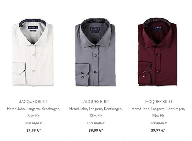 Top Hemden von Jacques Britt