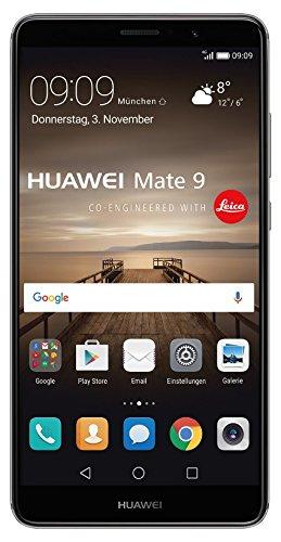 [Amazon.de] Huawei Mate 9 Dual-SIM in grau (5,9 Zoll FullHD / 4 Gb RAM / 64 Gb / CPU Kirin 960 Prozessor /4.000 mAh)