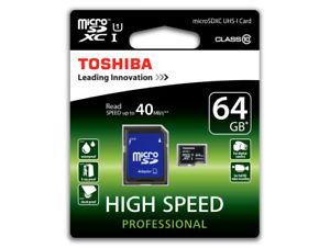 Toshiba 64GB microSDXC Speicherkarte UHS-1 / Class 10 für 11,98€ bei Gravis/eBay