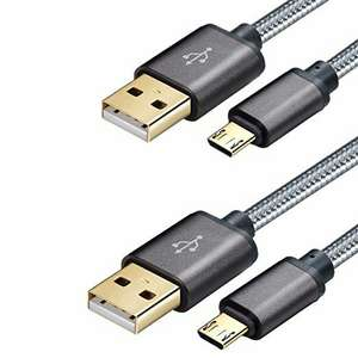 [amazon.de] Micro USB Schnellladekabel 1 Meter (2 Stück)