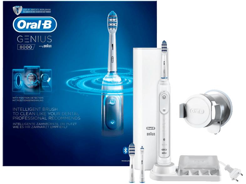 Braun Oral-B Genius 8000 + 3 Aufsteckbürsten für 81€ versandkostenfrei [Mediamarkt]