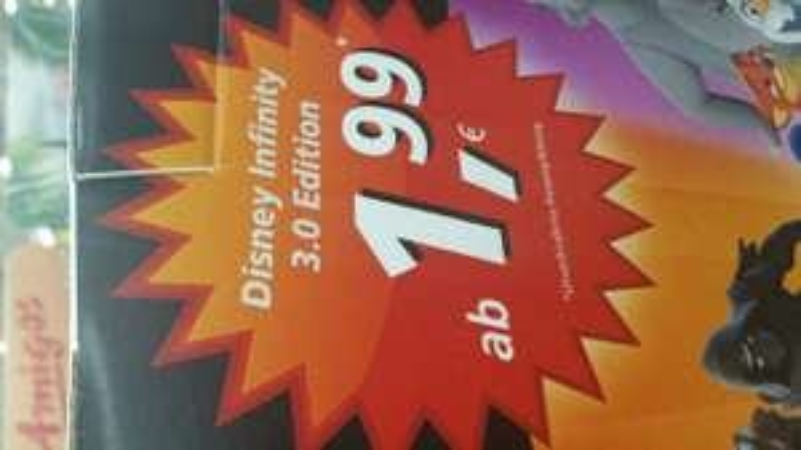 [real,- Göttingen] Disney INFINITY 3.0 Figuren 1,99€ (PVG 5,00€)