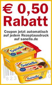 Sanella Coupon
