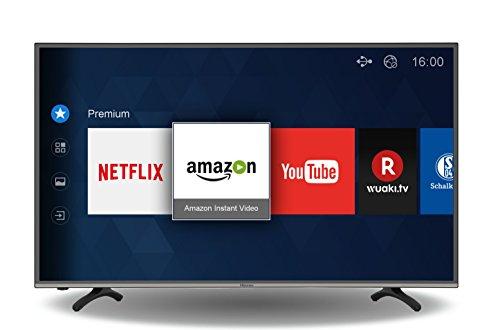 Hisense H49MEC3050 (49'' UHD Edge-lit HDR, 800Hz [interpol.], Triple Tuner, 4x HDMI, 3x USB, LAN + WLAN mit Smart TV, CI+, VESA, EEK A)) für 399,99€ [Amazon]
