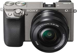 Sony Alpha 6000 Systemkamera inkl. SEL-P1650 Objektiv bei Amazon - mit Exmor APS-C Sensor, Full-HD, High Speed Hybrid AF