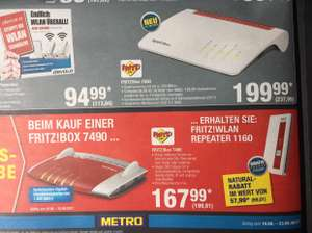 Fritzbox 7590 @Metro [Offline]