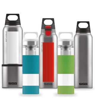 15% Rabatt auf die Hot&Cold Flaschen bei SIGG