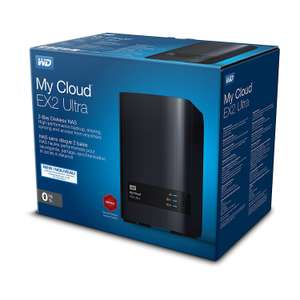 WD My Cloud EX2 Ultra 2-Bay NAS Leergehäuse [0/2 HDD, 1x Gigabit LAN, 2x USB 3.0] (notebooksbilliger.de)