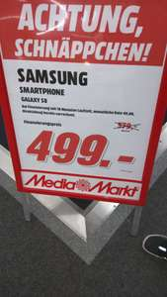 [Lokal?] Galaxy S8 / Galaxy S8 Plus Media Markt Heilbronn