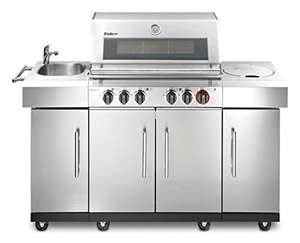 Enders Kansas 4 SIK Profi Turbo Gasgrill [Amazon]