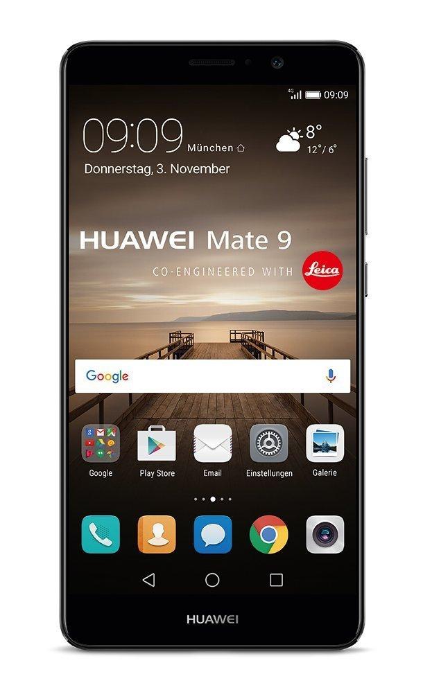 """Huawei Mate 9 in Schwarz - Amazon / als WHD für 406,70 € in """"Sehr Gut"""""""