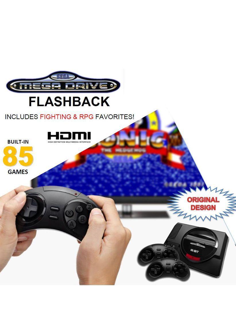 SEGA Mega Drive Mini HD (Flashback) with Wireless Controllers & Atari Flashback Gold für je 79,67€ [Vorbestellung] [Simplygames]