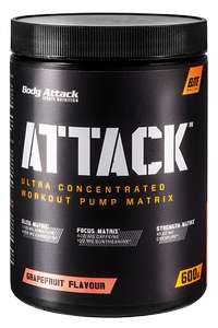 [Fitness Deal] Body Attack ATTACK Trainingsbooster, 600g