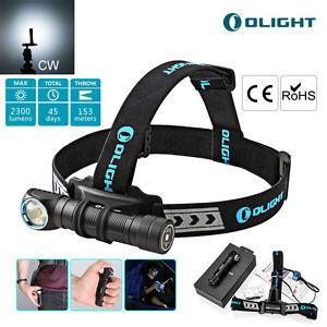 ebay - Olight H2R Nova Stirnlampe