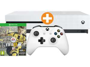 MICROSOFT XBox One S Bundle 500GB weiß inkl FIFA 17 (Download-Code) für 182€ [saturn.at]