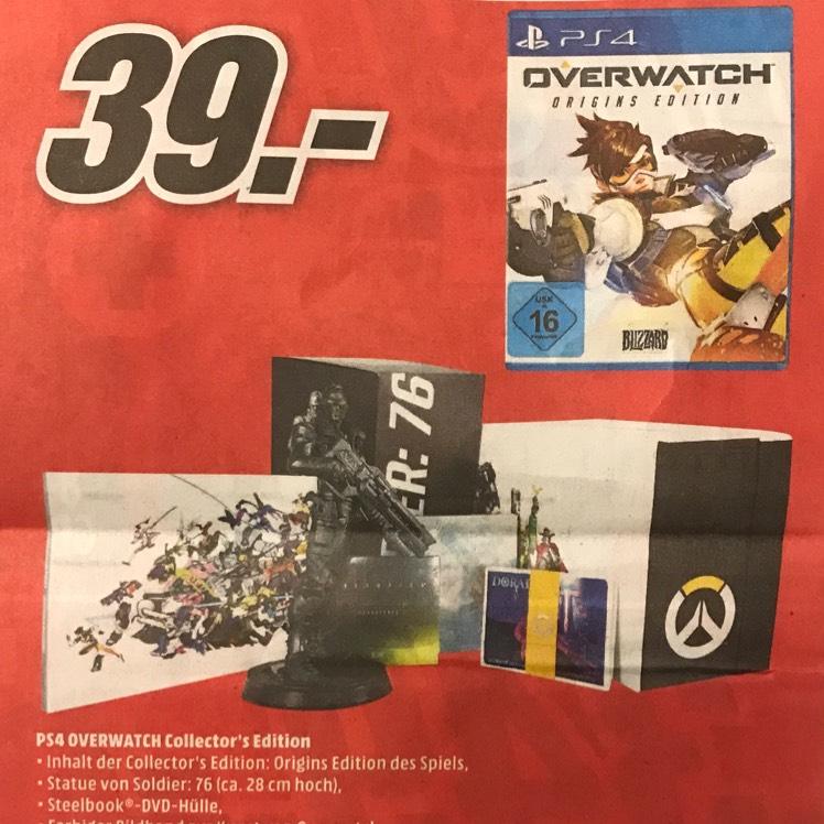 [lokal Media Markt Wuppertal] 15 Jahre-Jubiläum u.a. Overwatch Collectors Edition PS4