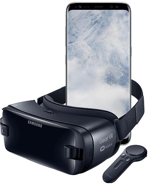 Samsung Galaxy S8, + Samsung Gear VR Controller, Vodafone 5GB LTE