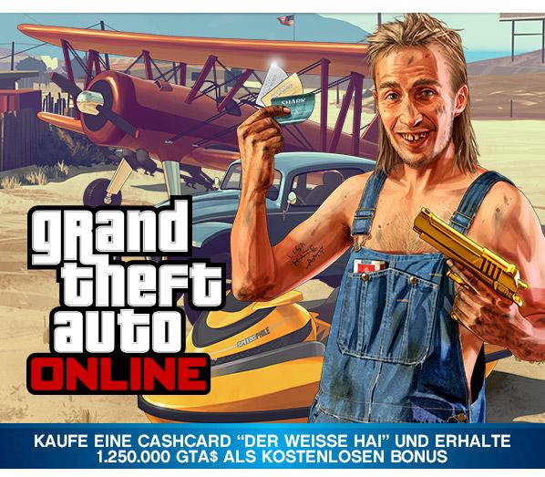 GTA 5 Online Cash GameStop Aktion - 2.500.000$ statt 1.250.000 für 14,99