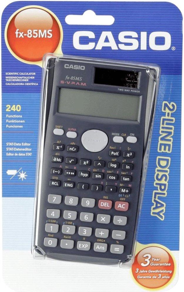 CASIO FX-85MS wissenschaftlicher Taschenrechner (LOKAL - Marktkauf Adendorf)