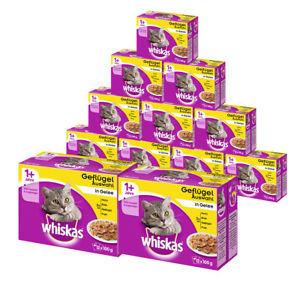 Whiskas 144er Mega-Multipack Katzenfutter in verschiedenen Sorten für EUR 26,99 @ebay WoW des Tages
