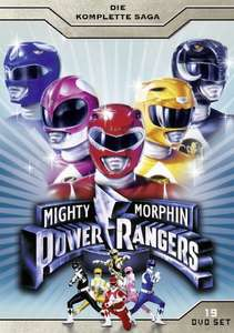 (Amazon) Mighty Morphin Power Rangers Die komplette Saga DVD